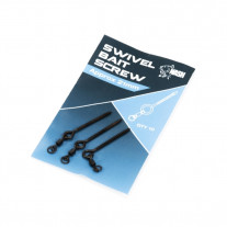 Nash 8mm metal bait screw +swivel