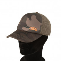 Fox Chunk Camo Mesh Back Baseball Cap
