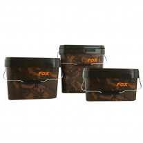 Fox Camo Square Carp Buckets