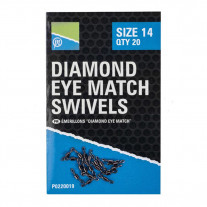 Preston Innovations Diamond Eye Match Swivels