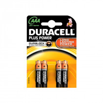 Duracell Power plus AAA