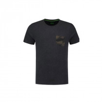 Korda Faux Pocket Tee Charcoal