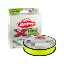 Berkley X5 Braid 150 Meter Flame Green