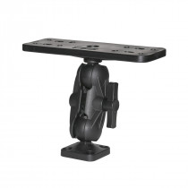 """Scotty Ball mounting with Plate- 1 1/2"""""""