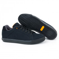 Fox Black & Orange Casual Trainers