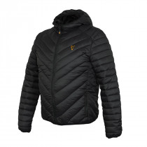 Fox Collection Quilted Jacket Black/Orange