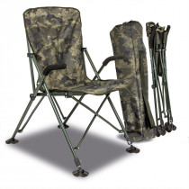 Solar UnderCover Green Foldable Easy Chair High