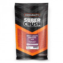 Sonubaits Supercrush Spicy Meaty Method Mix 2 kg