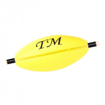 Spro Troutmaster Oval Fast Pilots Fluoro Yellow