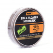 Fox Edges Zig & Floater Hooklink Trans Khaki