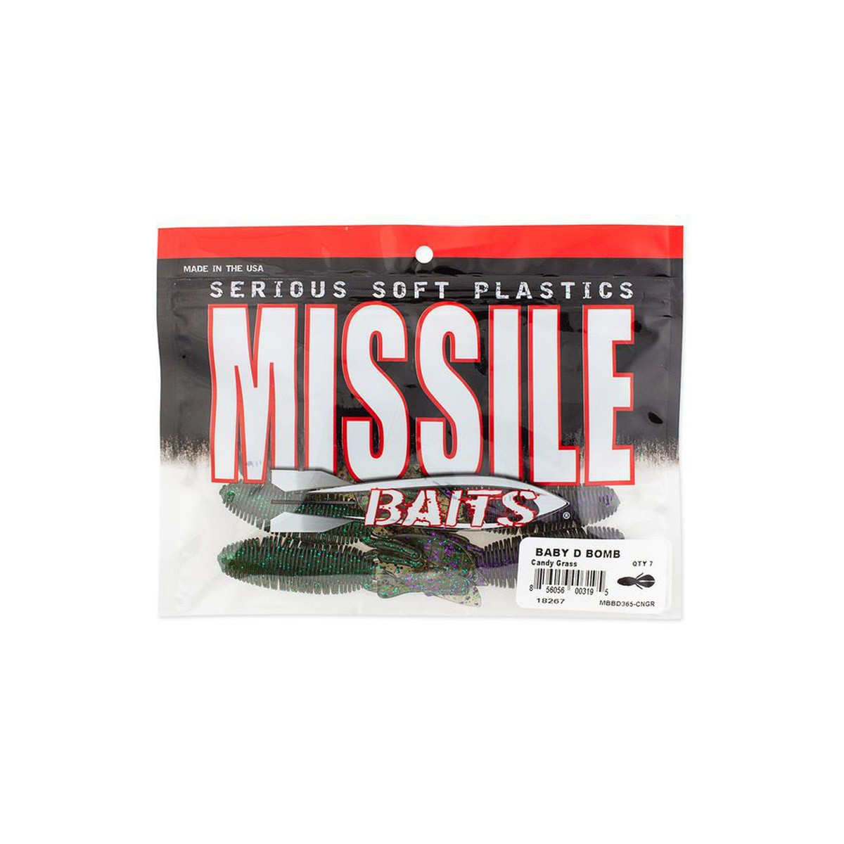 Missile baits Baby D Bomb 3,65 Inch