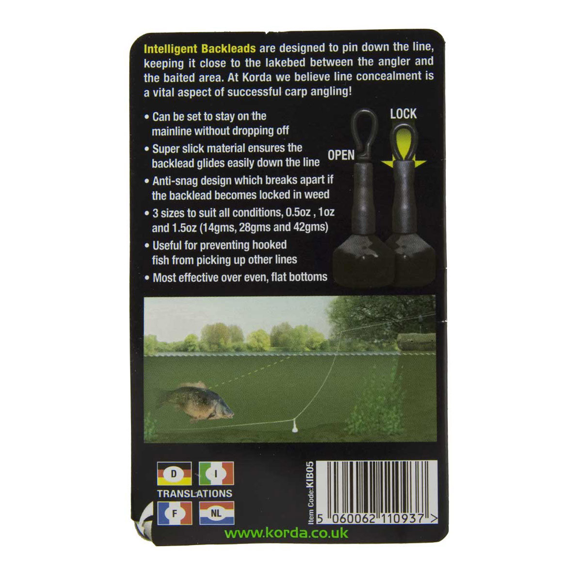 Korda Intelligent Backlead