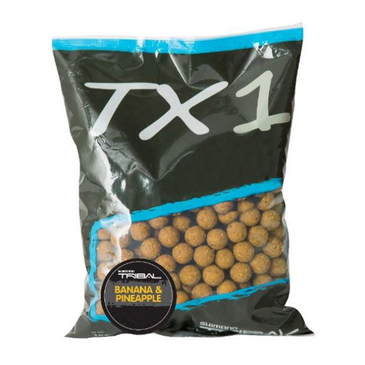 Shimano Tribal TX1 Banana & Pineapple Boilies 1 KG
