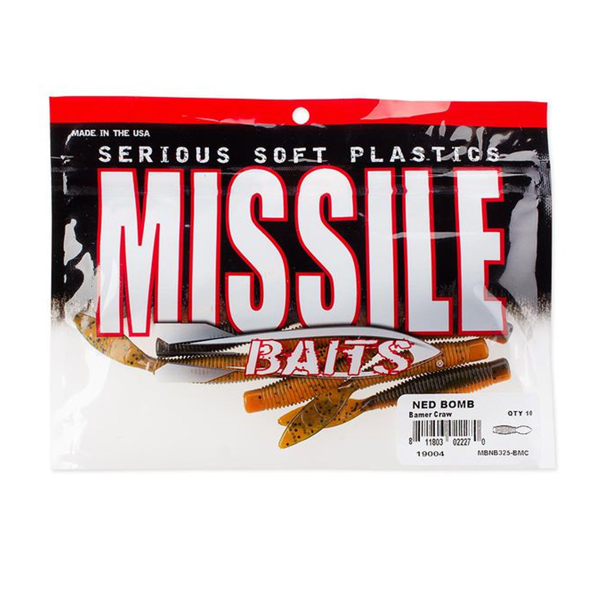 Missile baits Ned Bomb 3,25 inch
