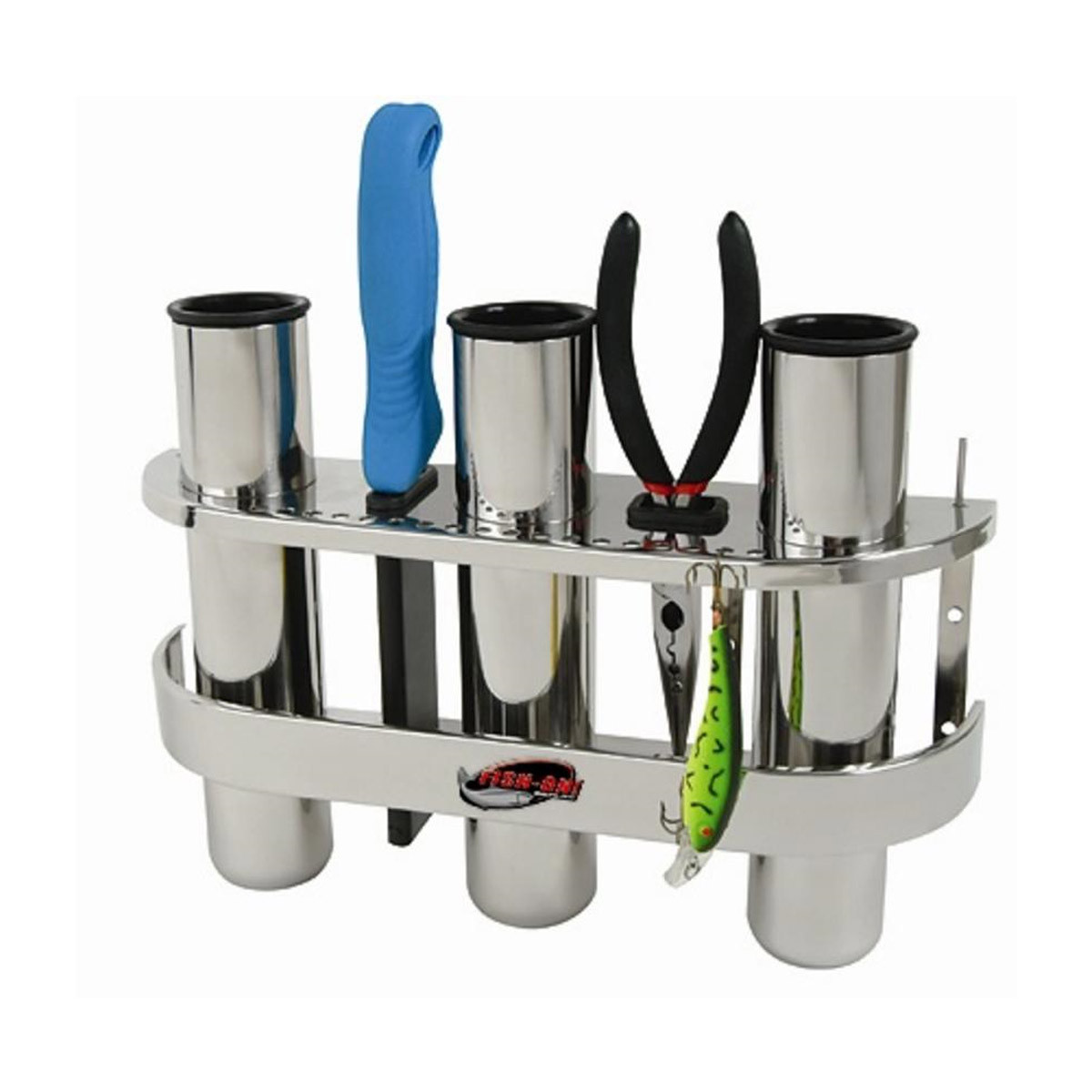 Tempress Fish-On Tripple Rod Holder Stainless