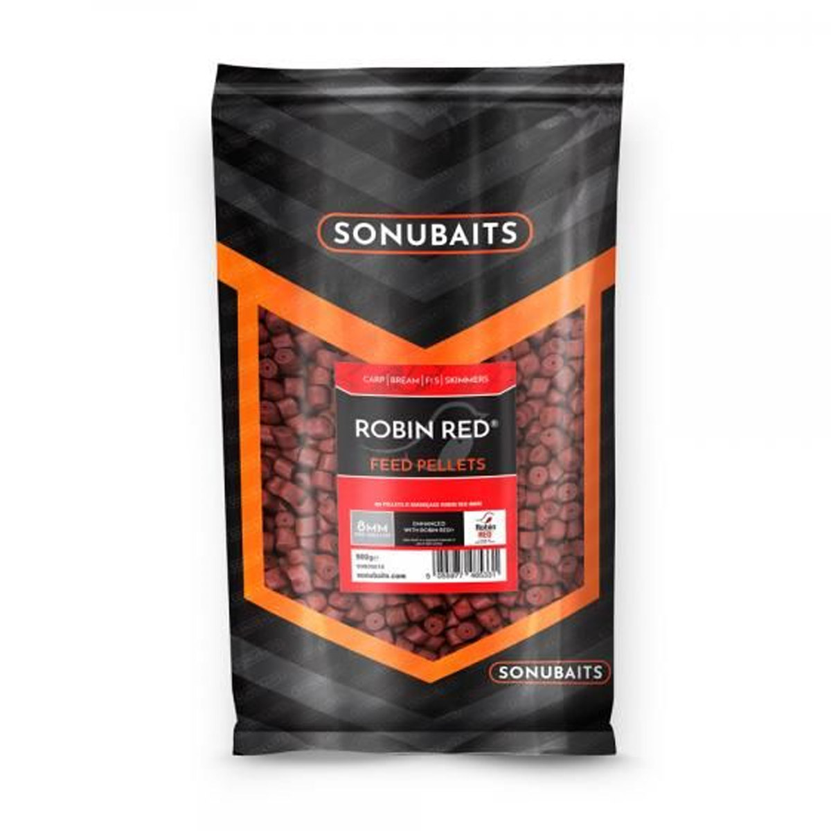 Sonubaits Robin Red Feed Pellets Pre-Drilled