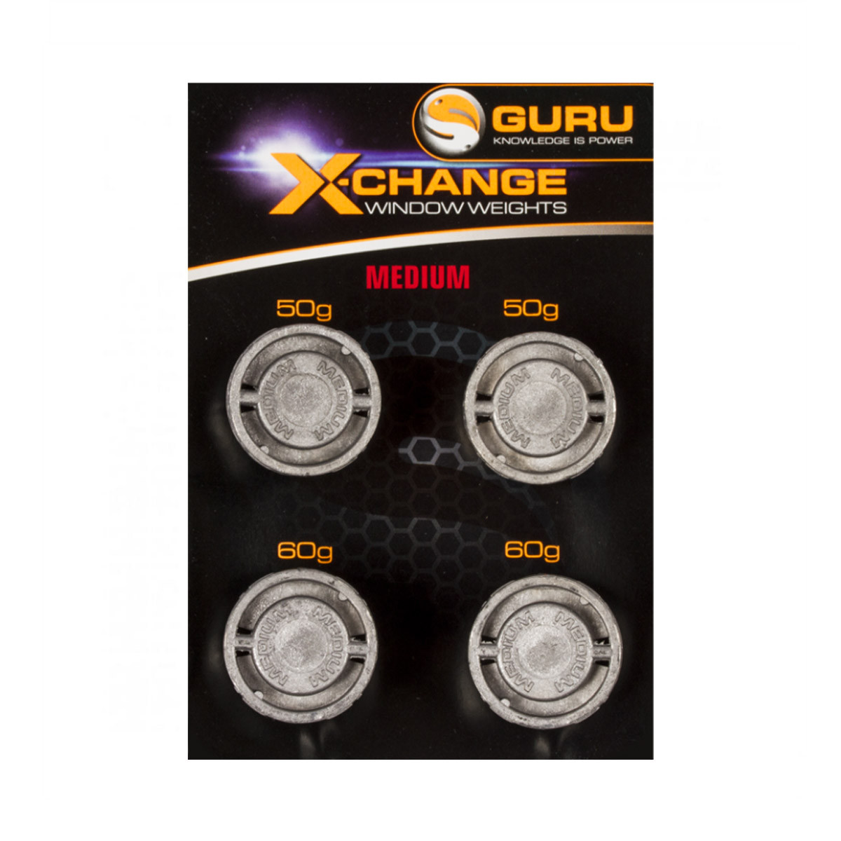 Guru X change Window Feeder Weights