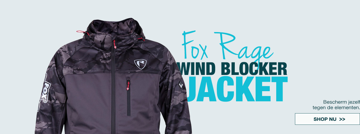 FOX RAGE WIND BLOCKER JACKET